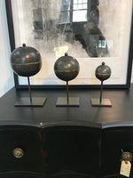 Three Metal Balls