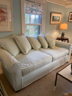 Light green couch