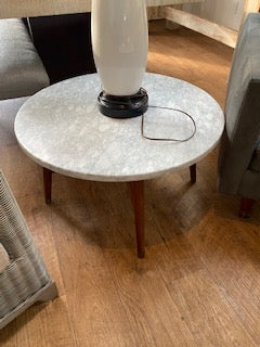 Marble top modern table