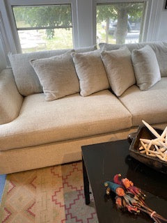 Oatmeal Fabric Couch
