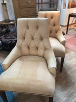 Pair of leather Fireside chairs