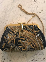 Pucci Sequined embroidered evening bag