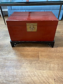 Red Chinese Chest
