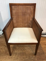 Woven Wood Desk Chair