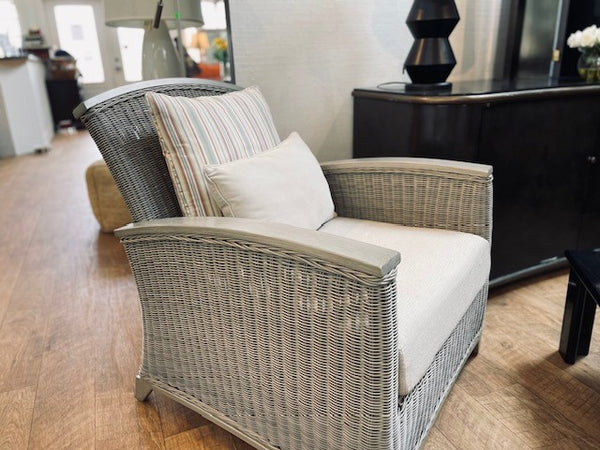 Wicker Arm Chair