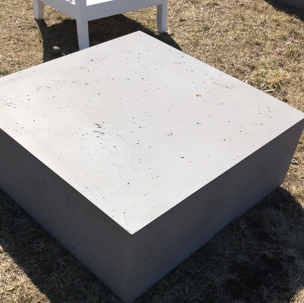 Fiberglass coffee table