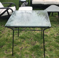 Black and glass table 4/29