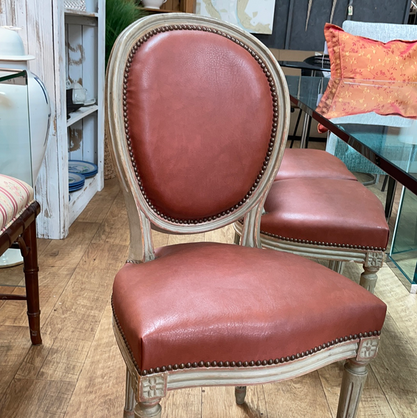6 French Style Dining Chairs 5/4