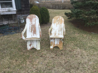 Vintage pair of Adirondack chairs 3/3