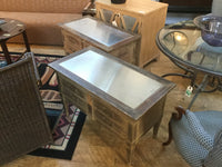 Pair of side tables 10/14