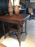 Vintage Square Woven Table