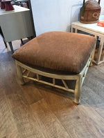 Woven Ottoman with Cushion 02/13/20