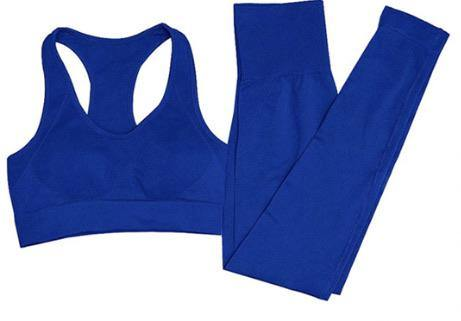 Blue is My Hue Athleisure Set