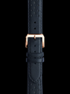 Racing Leather Strap w. Rose Gold Buckle