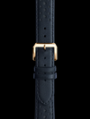Racing Leather Strap w. Yellow Gold Buckle