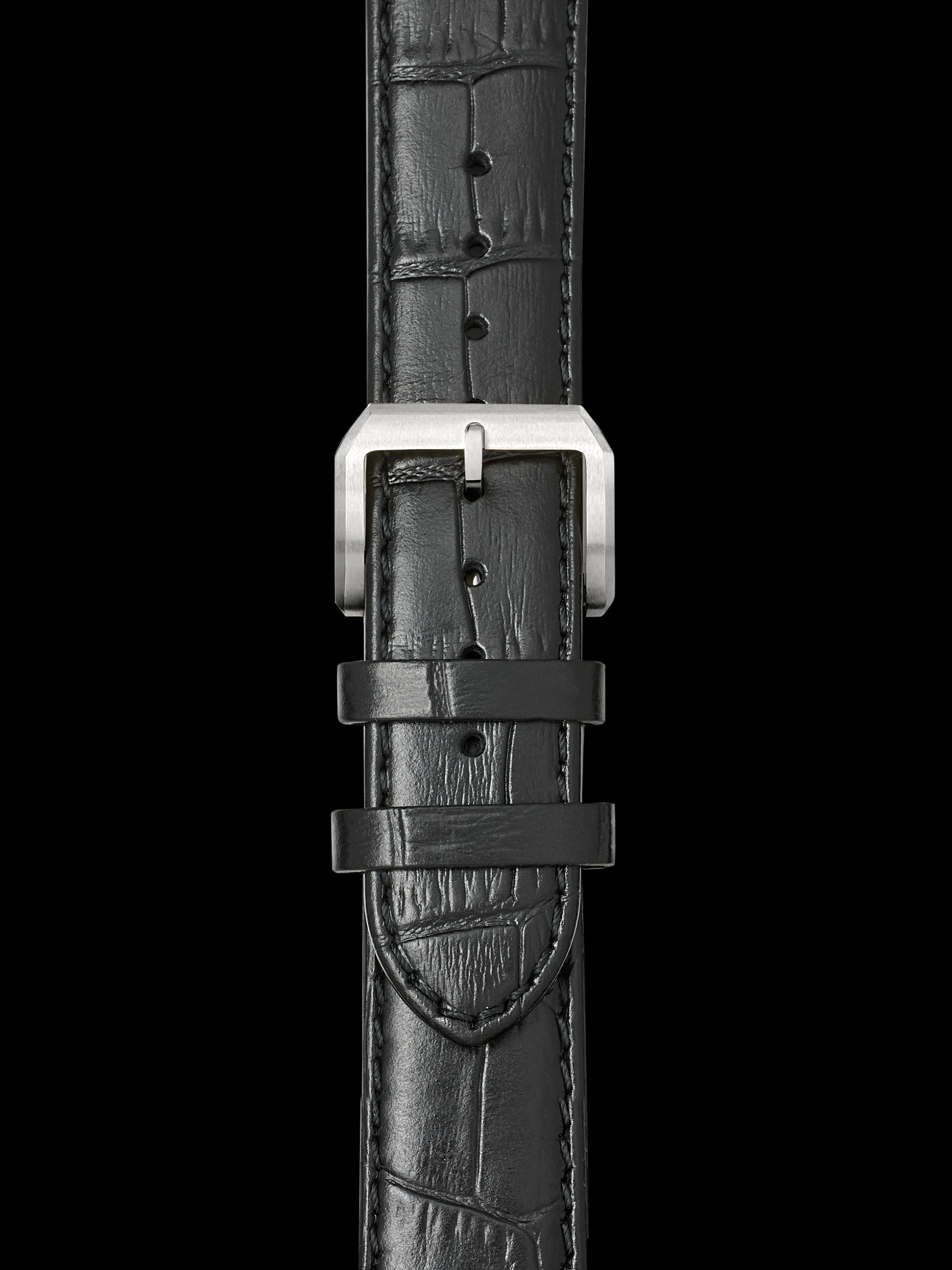 Leather Strap w. Steel Buckle