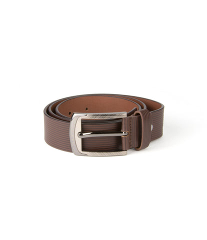 Laisse Faire Carnelian Leather Belt