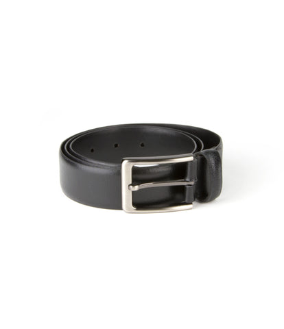 Laisse Faire Onyx Leather Belt