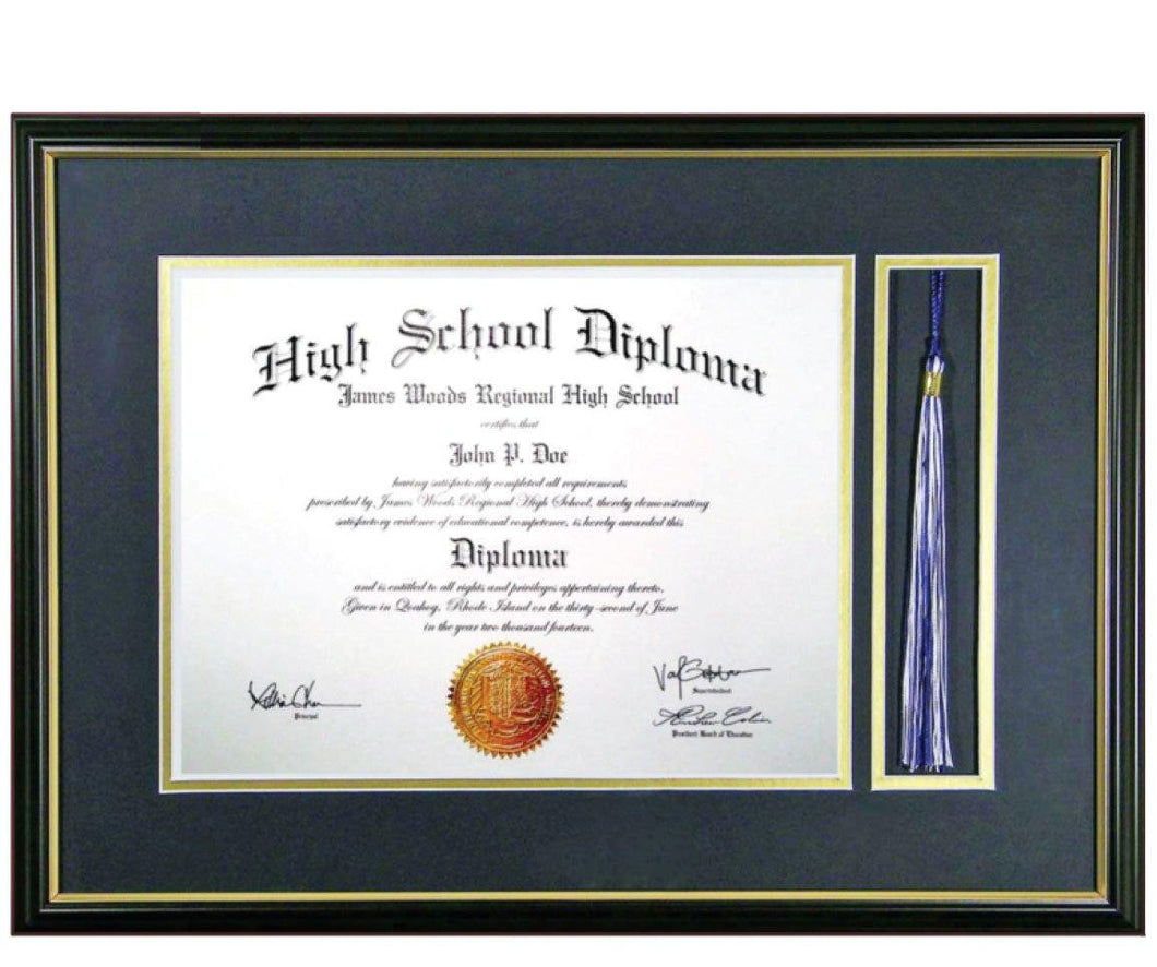 Diploma With Tassel Frame – Balfour Decor