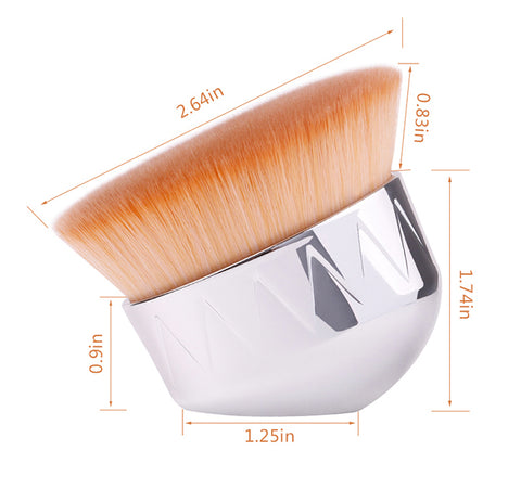 big makeup hand brush