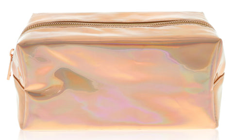Rose Gold Makeup Bag and Case