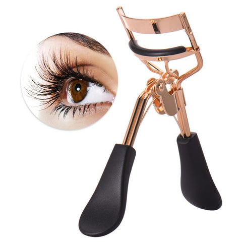 Gold and Black Eyelash Curlers