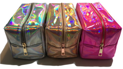 Holographic Cosmetic Bags