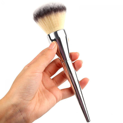 Big Powder Brush Silver