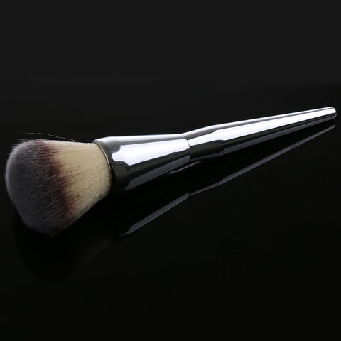 Silver Powder Makeup Brush