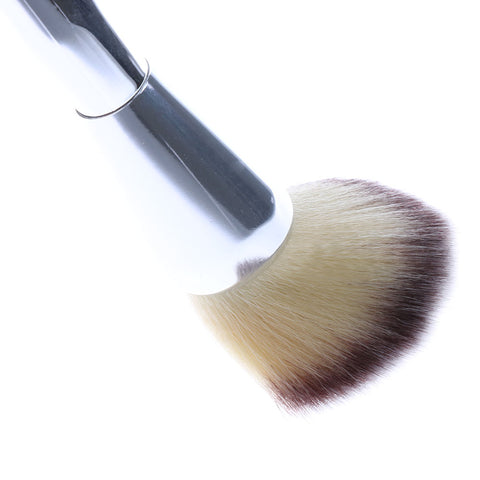 Large Silver Powder Makeup Brush