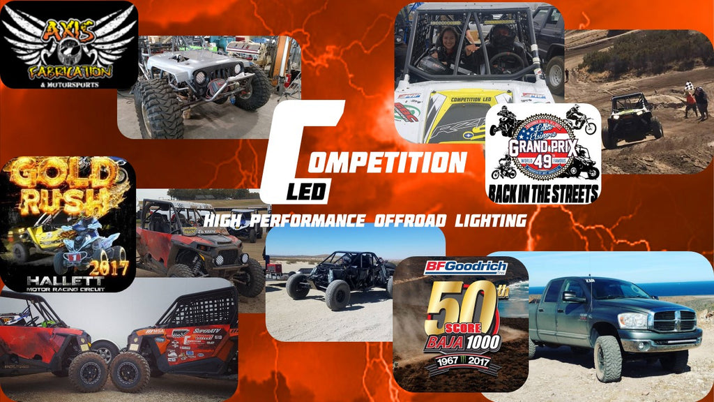 competition led at baja 1000