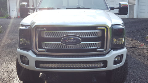 curved dual row light bars