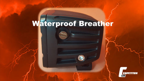 Competition LED waterproof breather