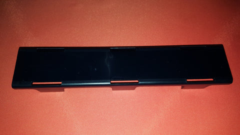 single row light bar black cover