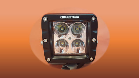 race series 40 watt flood led light pod