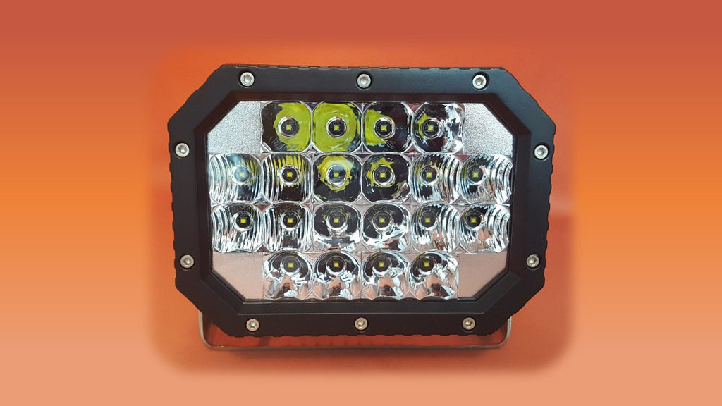 5x7 inch led race light