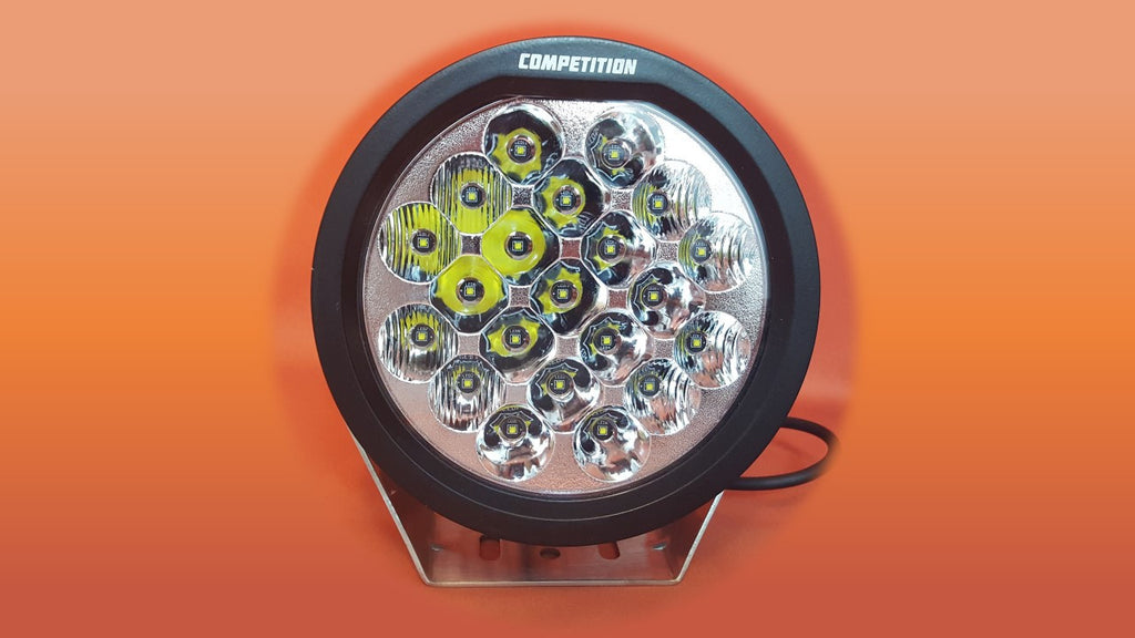 7 inch round led race light