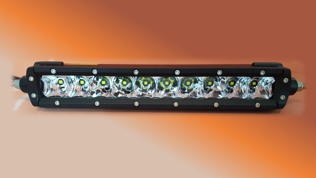 10 inch single row led light bar