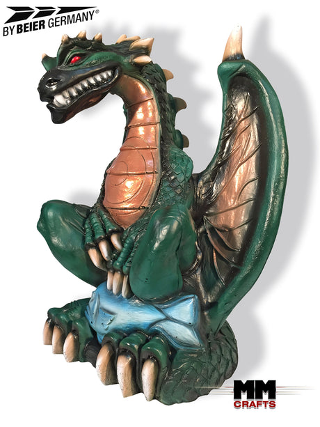 Sabre Swing Green Dragon Fantasy 3D Target