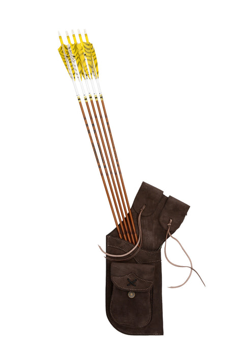 70046 Hip Quiver Dark Brown