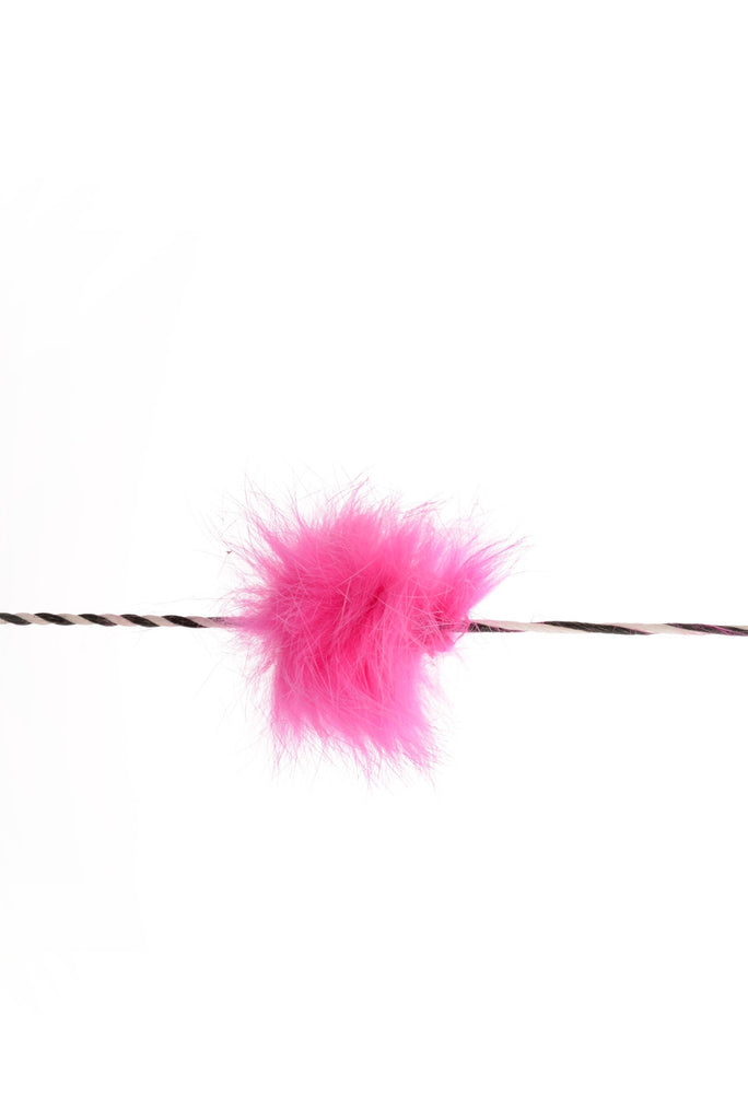 70160 String Silencer Funny Puff Pink