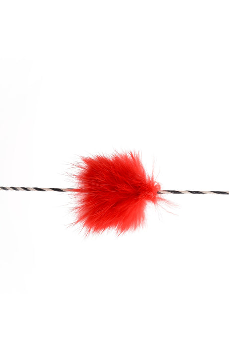 70162 String Silencer Funny Puff red