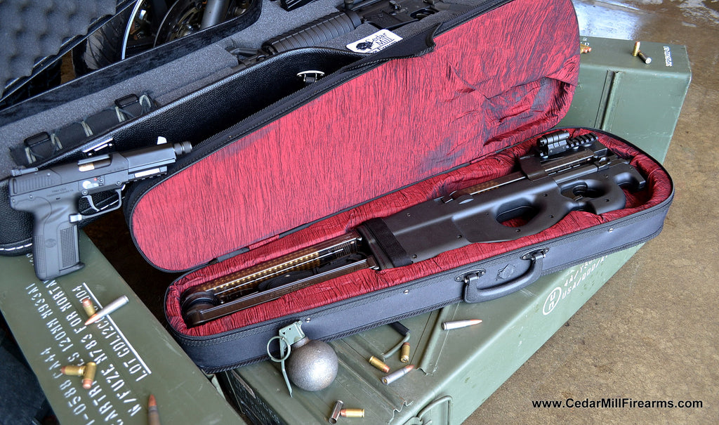 How to make a Gunslinger Style PS90 / P90 Violon Case