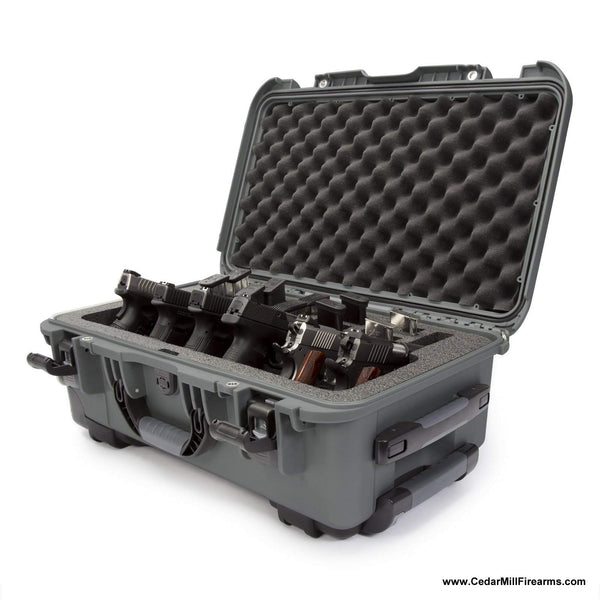 Nanuk 935 Waterproof TSA Safe case SIX Glock, 1911, SIG, Ruger, 6-UP-Pistol Cases-Nanuk-
