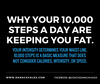 YOUR 10,000 STEPS ARE THE REASON YOU ARE NOT LOSING WEIGHT.