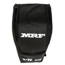 MRF VK 18 SHOULDER CRICKET KIT BAG BLACK WITH WHEELS (LARGE)