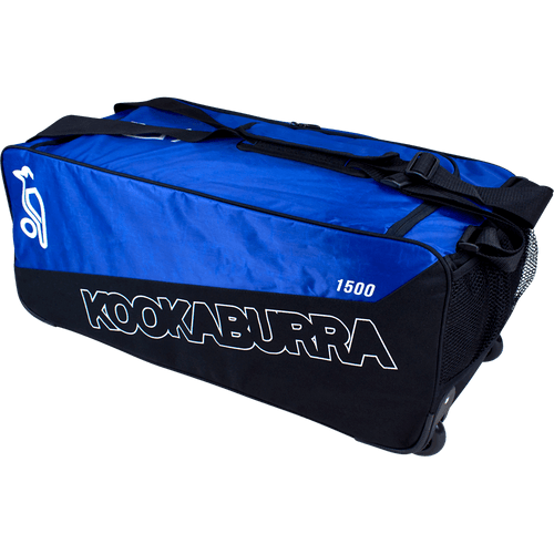 a31e45568 2019 Kookaburra Pro 1500 Wheelie Cricket Kit Bag