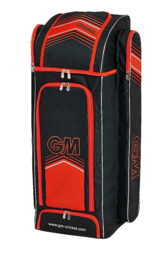 GUNN & MOORE ORIGINAL DUFFLE BAG BLACK/RED