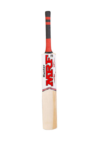 MRF Hunter English Willow Cricket Bat, Short Handle