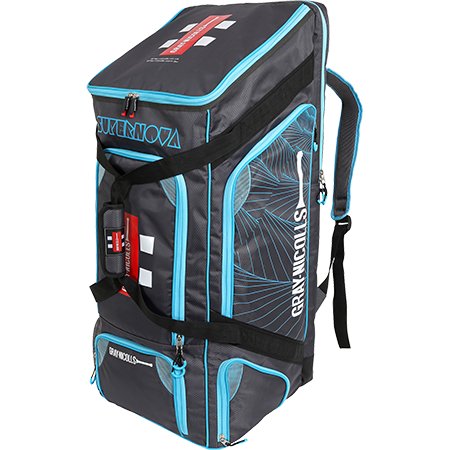 BAG GN DUFFLE SUPERNOVA Gun Metal Grey/Blue